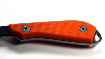 White River Knives Backpacker Bolt-On Griffschalen Kit - Orange Gen. 2